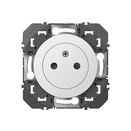 Prise de courant 2P+T Surface dooxie 16A blanc