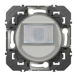 Interrupteur automatique pour minuterie en remplacement d'un poussoir dooxie alu
