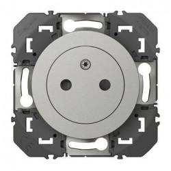 Prise de courant 2P+T Surface dooxie 16A alu - 600435
