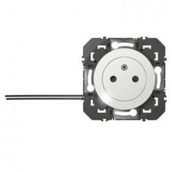 Prise de courant 2P+T à voyant Surface dooxie 16A blanc - 600320