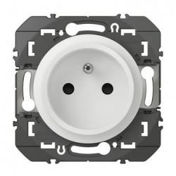 Prise de courant easyréno 2P+T dooxie 16A finition blanc - 600328