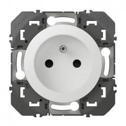 Prise de courant 2P+T à puits dooxie 16A finition blanc - 600337