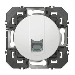 Prise blindée RJ45 cat6 FTP dooxie finition blanc