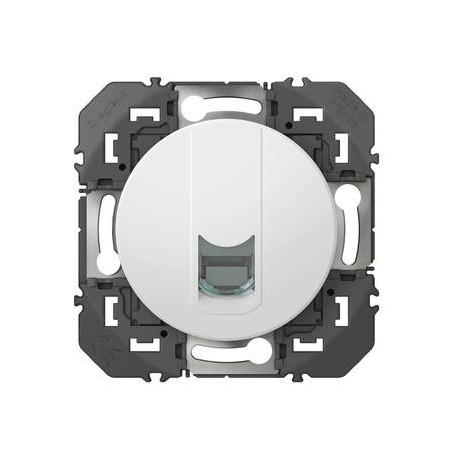 Prise blindée RJ45 cat5e FTP dooxie finition blanc