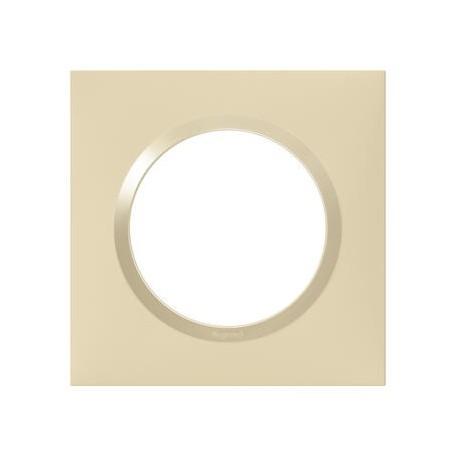 Plaque carrée dooxie 1 poste finition dune - 600811
