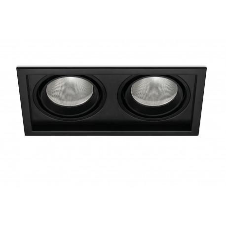 MAGNUM 60W 4800Lm 3000K BLACK DALI / PUSH DIMM - 30760603N