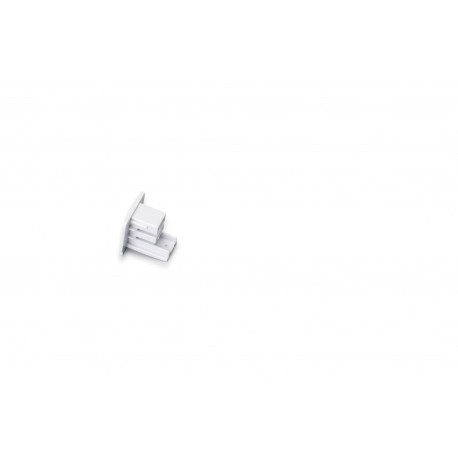 TRACK 230V CLOSING END WHITE - 30445001W