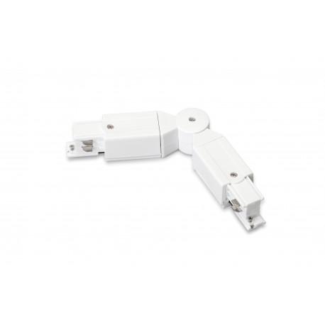 TRACK 230V UNIVERSAL ANGLE WHITE - 30440012W