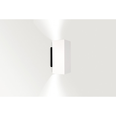 WALLY SQUARE DOUBLE 2x50W GU10 MATT WHITE - 30520250W