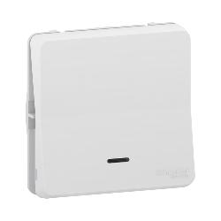 Mureva Styl - Va et vient lumineux LED - composable - IP55 - IK08 - blanc - MUR39024