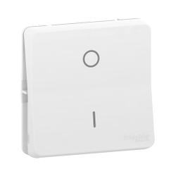 Mureva Styl - Interrupteur bipolaire - composable - IP55 - IK08 - blanc - MUR39033