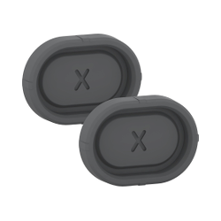 Mureva Styl - Obturateur pour trou de fixation - IP55 - gris - MUR34206