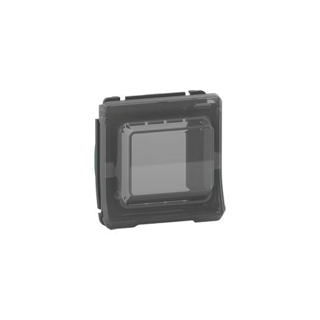 Mureva Styl - Adaptateur pour fonction Unica - composable - IP55 - IK07 - gris - MUR35106
