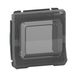 Mureva Styl - Adaptateur pour fonction 45X45 - composable - IP55 - IK07 - gris - MUR35110