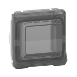 Mureva Styl - Adaptateur pour fonction Unica - composable - IP55 - IK07 - blanc - MUR39106