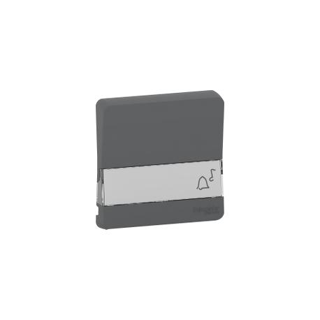 Mureva Styl - Enjoliveur porte étiquette lumineux - IP55 - IK08 - gris - MUR34203