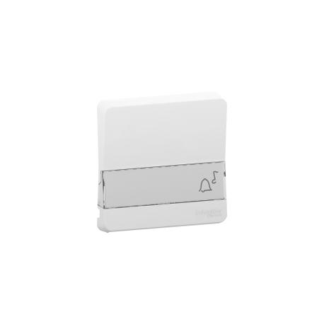 Mureva Styl - Enjoliveur porte étiquette lumineux - IP55 - IK08 - blanc - MUR39203