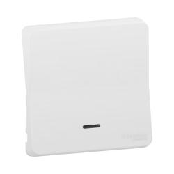 Mureva Styl - Enjoliveur avec lentille - IP55 - IK08 - blanc - MUR39204