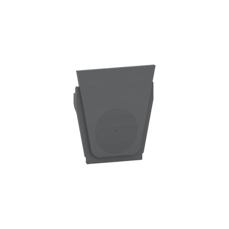 Mureva Styl - Entrée de câble simple - IP55 - gris - MUR35008