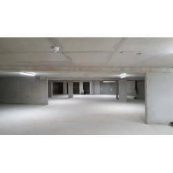 Mise en situation du luminaire Hydraled 60W dans un parking