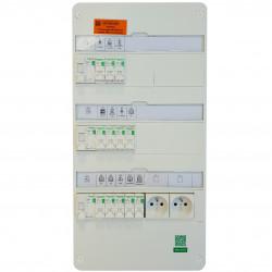 Tableau électrique 35 à 100m² - TAMC - SCHNEIDER RESI9
