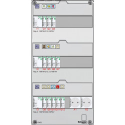 Tableau électrique SCHNEIDER RESI9 35 à 100m² XP - TAMC