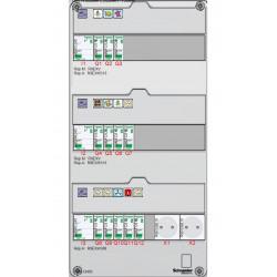 Tableau électrique SCHNEIDER RESI 9 - XE TAMC - 35 à 100m² - face