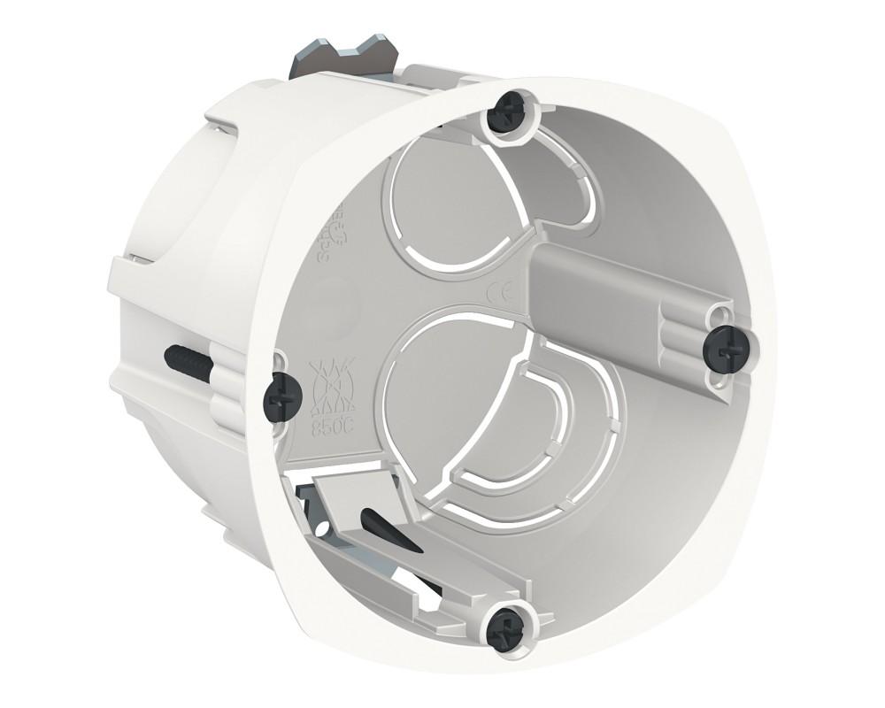 Diametre Scie Cloche Prise De Courant boite d'encastrement 1 poste - diamètre 67mm - profondeur 50mm -  e-planetelec