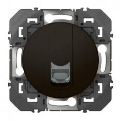 Prise blindée RJ45 cat6 STP dooxie finition noir - emballage blister - 095285