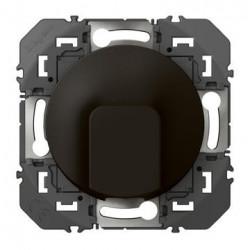 Sortie de câble standard dooxie finition noir - emballage blister - 095281