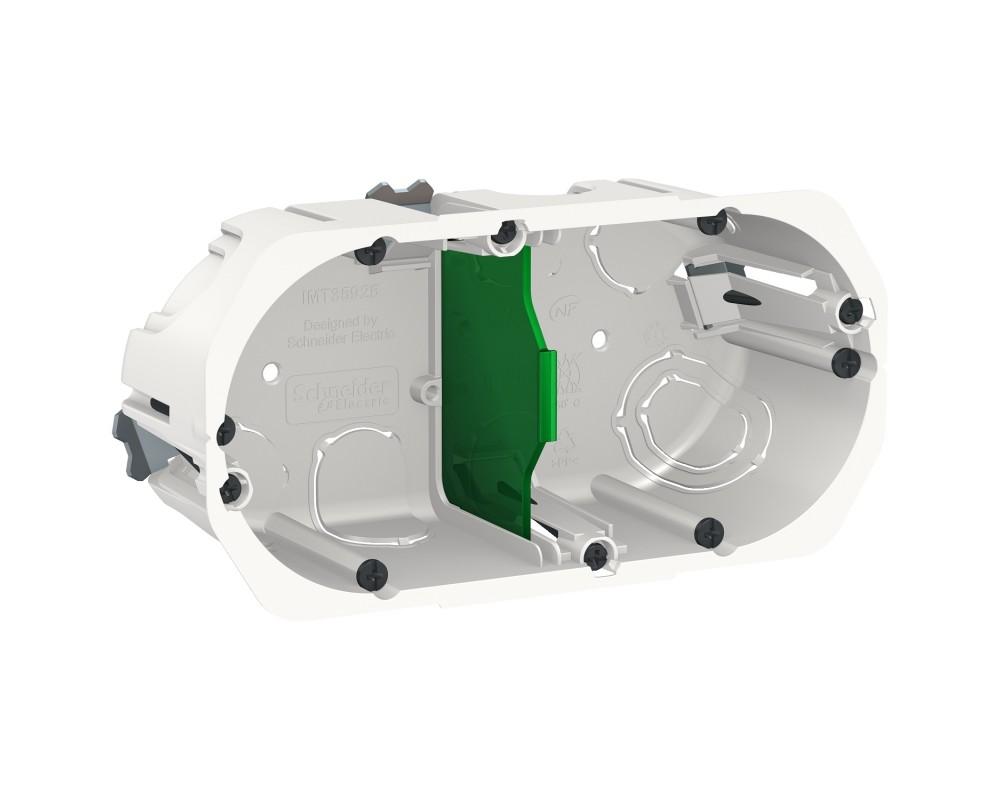 Diametre Scie Cloche Prise De Courant boîte d'encastrement 2 postes imt35925 schneider electric