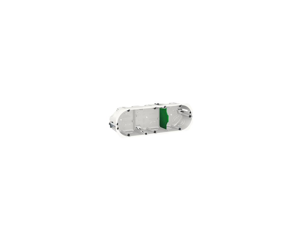 Diametre Scie Cloche Prise De Courant boîte d'encastrement 3 postes imt35935 schneider electric