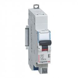 DNX3 Disjoncteur 1P+NG C2 4500A/KA AUTO - 406780