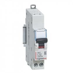 DNX3 Disjoncteur 1P+NG C32 4500A/KA AUTO - LEGRAND - 406786