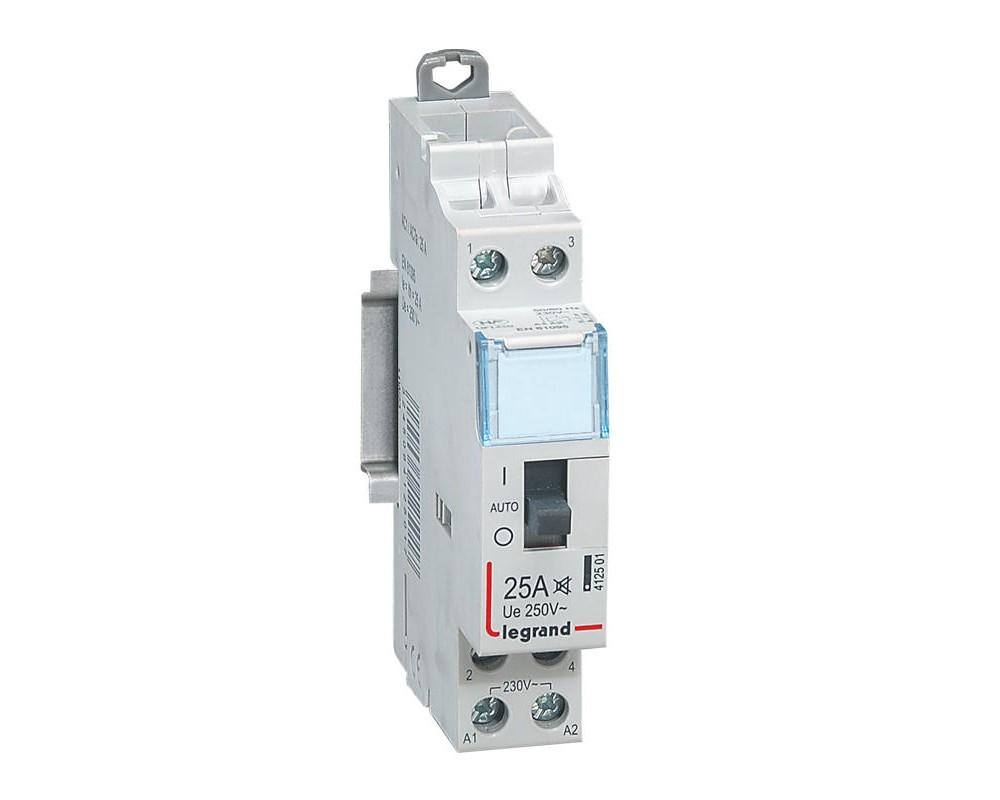 Contacteur CX3 J/N 25A 230 V - LEGRAND 412501
