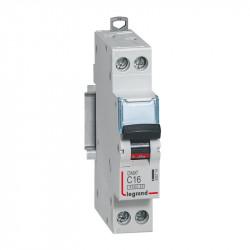 DNX3 Disjoncteur 1P+NG C16 4500A/6KA VIS/VIS- LEGRAND 406774