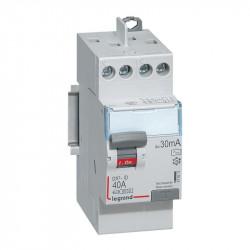 DX3-ID 30mA 40A Type AC 2P 230V Vis/vis - LEGRAND - 411611