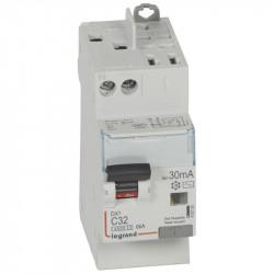 Disjoncteur différentiel DX³4500 P+N 230V - 32A type AC 30mA - 410720