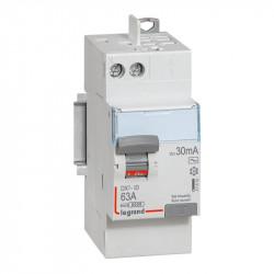 DX3-ID 30mA 63A Type AC 2P 230V - 411650 - LEGRAND
