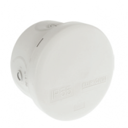 Boite étanche ronde IP55 diam.60x40mm - 960° - 50031