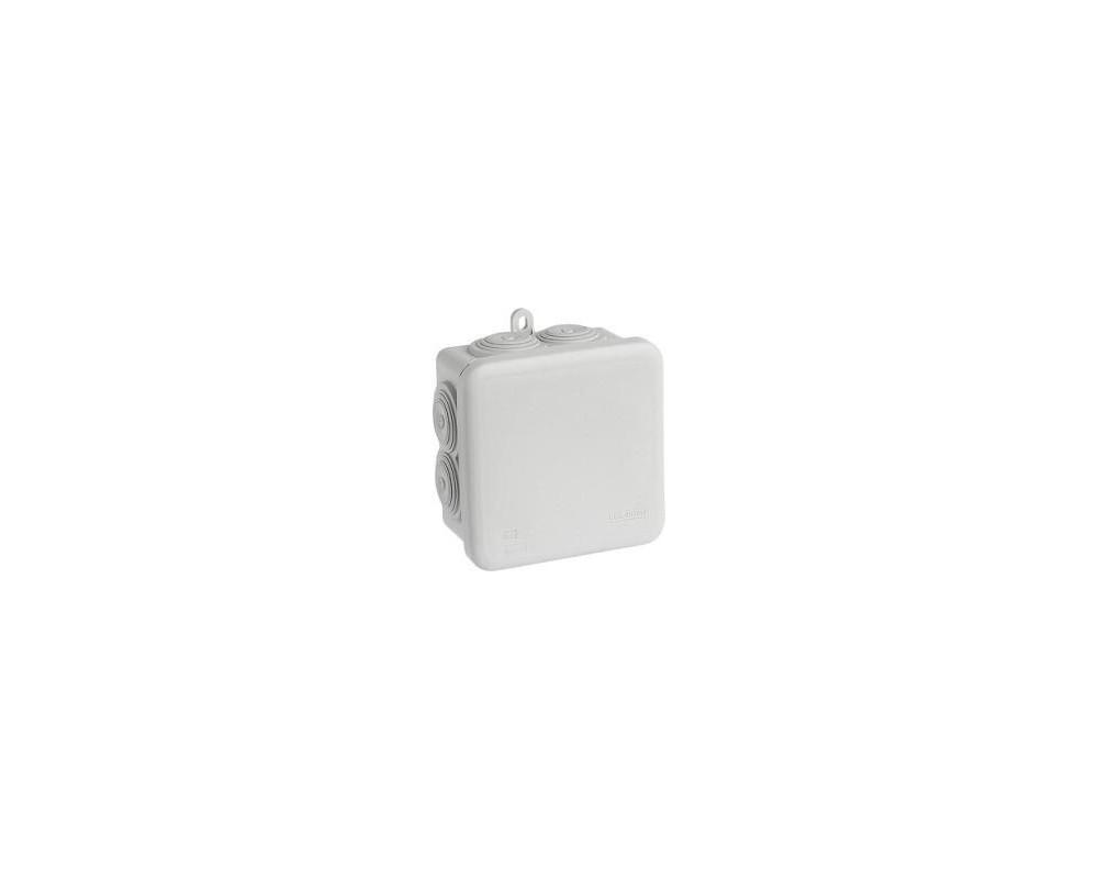 Boite étanche carrée IP55 80x80x45 - 960° - 50033