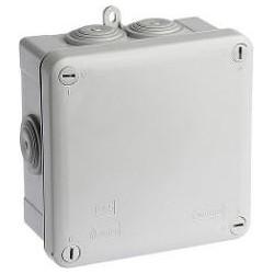 Boite étanche carrée IP55 105x105x55 - 960° - 50034