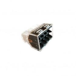 Eur'Ohm - 70058 - Boite de 50 connecteurs transparents - 8 entrées