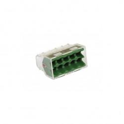 Eur'Ohm - 70069 - Blister de 100 connecteurs transparents - 10 entrées
