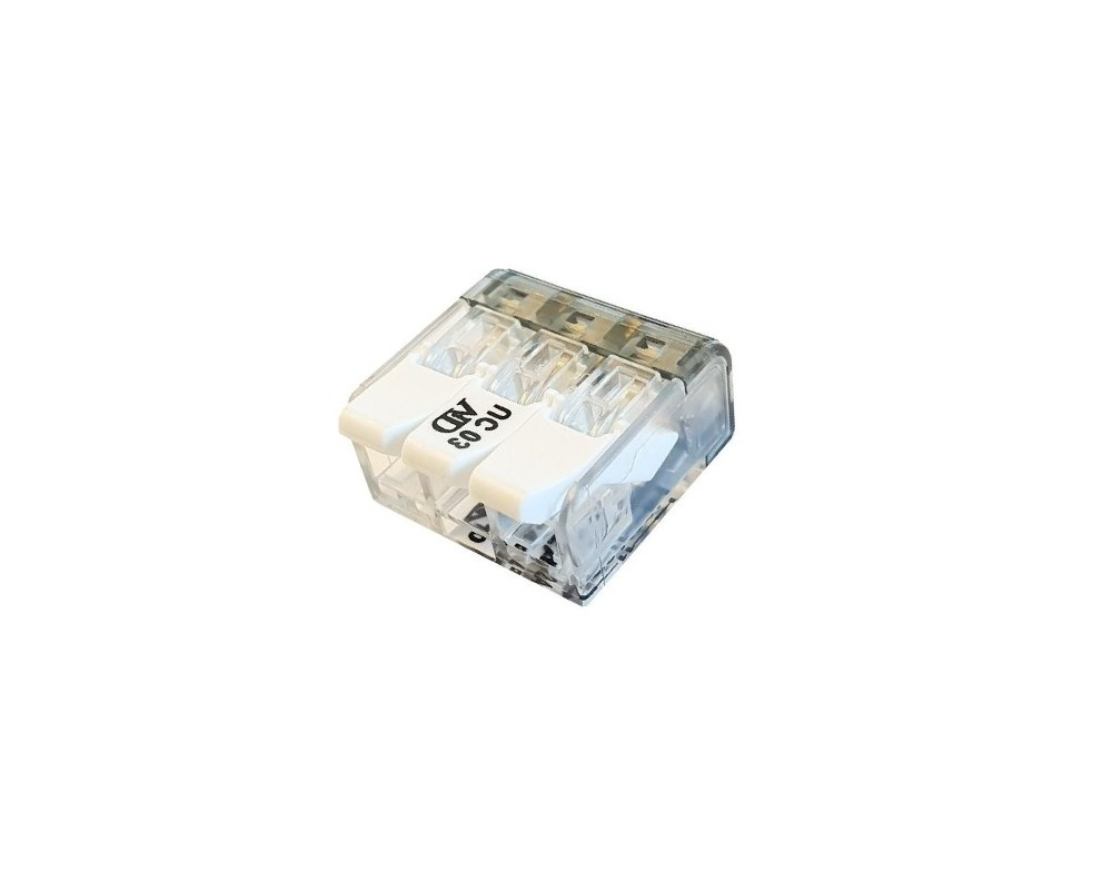 Connecteurs à leviers 3 trous - P07313