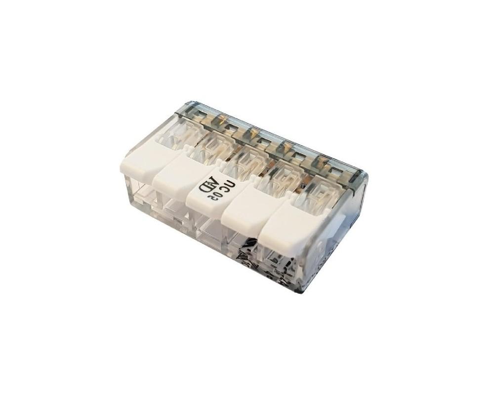 Connecteurs à leviers 5 trous - P07315