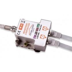 Kit répartiteur TV sur RJ45 2 sorties - GO187