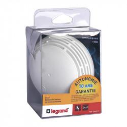 Dispositif d'Alarme de Fumée DAF 10 ans - 040517 - LEGRAND