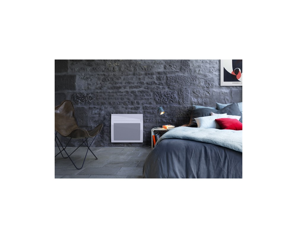 Rayonnant intelligent et connecté Tatou horizontal 300W blanc - 666416