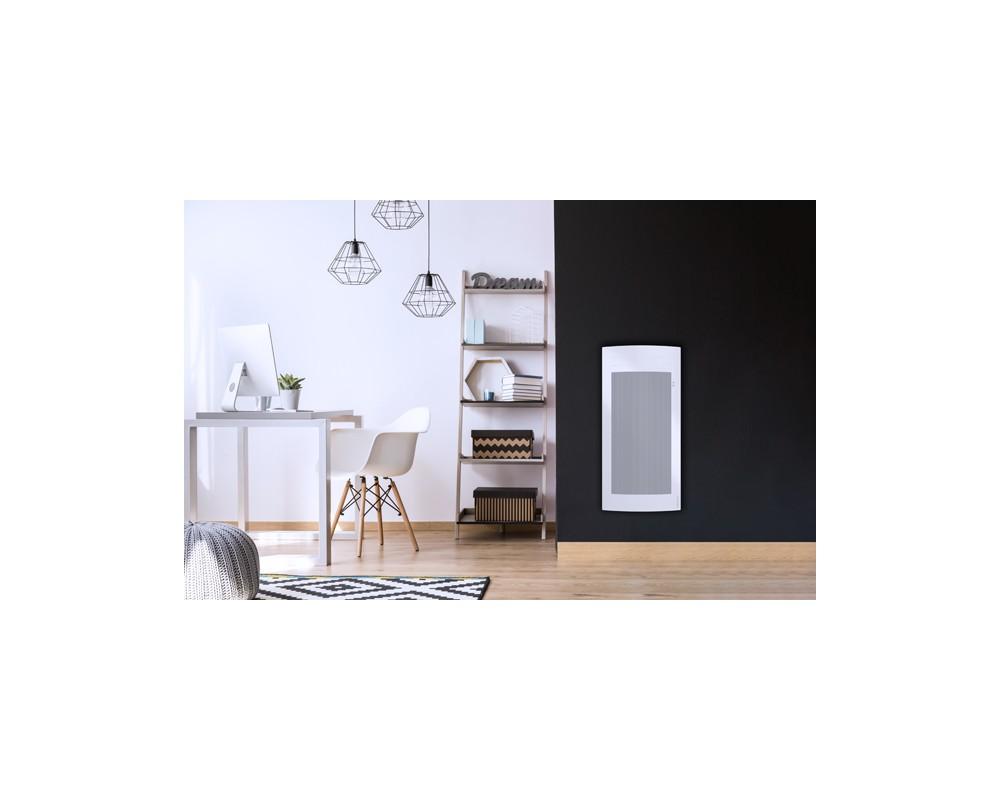 Rayonnant intelligent et connecté Tatou vertical 1500W blanc - 666425